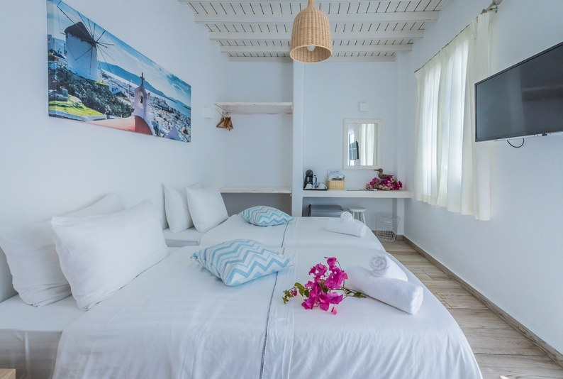 Double or Twin Room with patio - Atrium - Νο.6